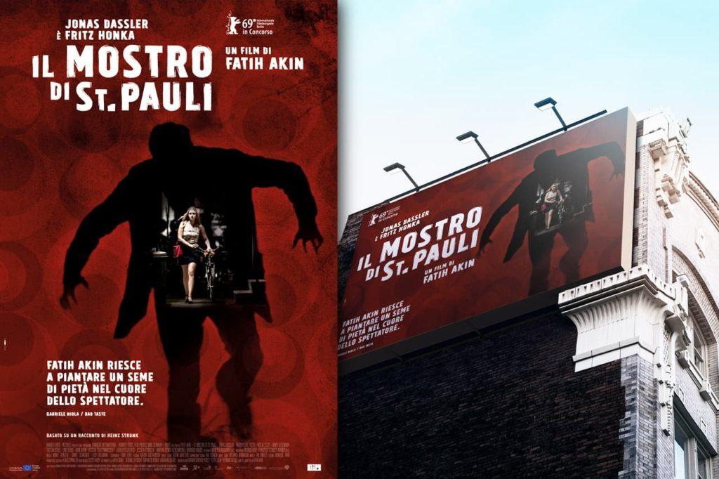 immagine per Il mostro di St. Pauli, campagna di lancio