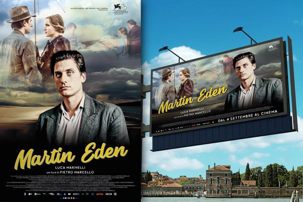 immagine per Martin Eden, campagna di lancio